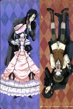 Sebastian Michaelis & Ciel Phantomhive Watch in English or Japanese Kuroshitsuji S1 (Black Butler S1) http://animewaffles.tv/Details-Kuroshitsuji-S1-Black-Butler-S1-168 Kuroshitsuji S2 (Black Butler S2) http://animewaffles.tv/anime_detail.php?id=163 Kuroshitsuji: Book of Circus http://animewaffles.tv/Details-Kuroshitsuji-Book-of-Circus-1327