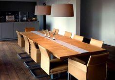 Esstisch Massivholztisch Holztisch massiv auf Maß Eichenholz   Holzwerk-Hamburg