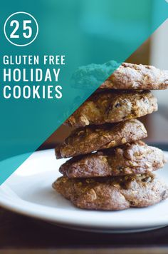 25 Gluten Free Cookies for the Holidays
