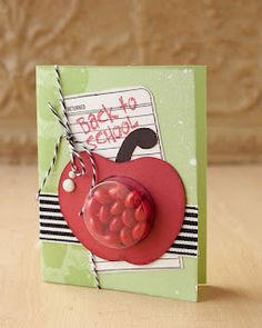 Treat cup card