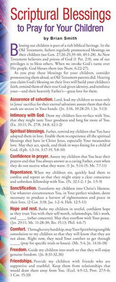 This bookmark, part of the NavPress prayer cards line, lists one Biblical character quality you can pray for your child each day for a month. Prayer Times, Prayer Scriptures, Bible Prayers, Faith Prayer, Bible Verses, Deliverance Prayers, Prayer For My Son, Praying For Your Children, Prayers For Children