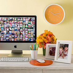 How to Organize Photos -- Set up a time once a week, month or every three months and transfer your photos -- stick to it --