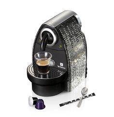 Swarovski Studded Nespresso Machine. - if it's hip, it's here