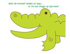 geef de krokodil tanden - Google zoeken