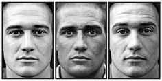 Portraits of Marines before, during and after war in Afghanistran