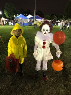 Ren Halloween Costume Georgie And Pennywise The