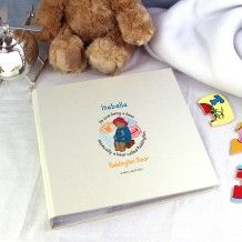 Personalised Tiny Tatty Teddy Cuddle Bug Album with Sleeves Personalised Christening Gifts, Personalized Baby Gifts, Paddington Bear, 6 Photos, Twinkle Twinkle Little Star, New Baby Gifts, Special Gifts, Baby Shower Gifts, New Baby Products