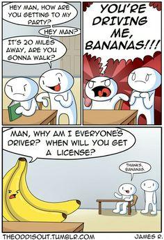 I wish I had such a helpful banana......