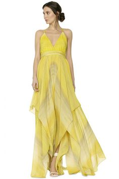 Alice + Olivia Tonia Dress in Painted Gradient Women