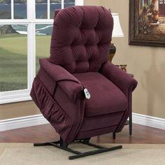 Med-Lift 25 Series Tall Three-Way Reclining Lift Chair Moveable Infrared Heat: No, Upholstery: Cabo - Havana, Vibration and Heat: 4 Vib/Heat