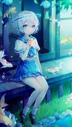 Art Tutorial and Ideas Loli Kawaii, Kawaii Anime Girl, Anime Art Girl, Manga Girl, Anime Guys, Manga Anime, Kawaii Art, Pretty Anime Girl, Beautiful Anime Girl