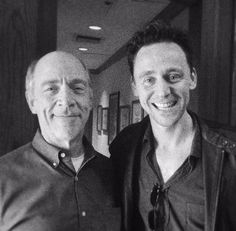 Hiddleston (With J.K. Simmons). That's a great combination.