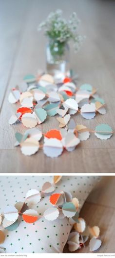 more paint chip garlands