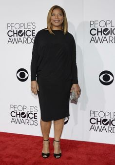 Queen Latifah arrives at the 2014 People's Choice Awards in Los Angeles, California January 8, 2014.