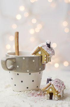 Ozdoby świąteczne na kubek  fot. pinterest.com
