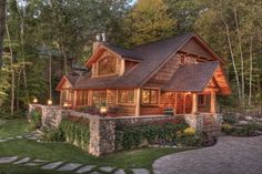 Lakeside traditional exterior