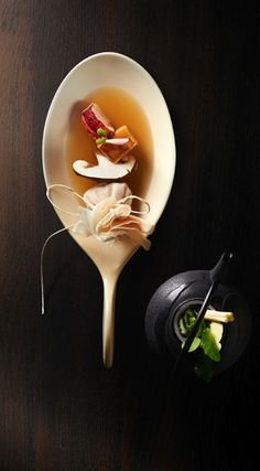 Recette au foie gras et homard Rougié - le Fotographe