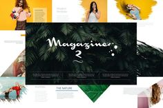 Download for free now MAGAZINE 2 Keynote #presentation #presentations #templates Presentation Folder, Powerpoint Presentation Templates, Presentation Design, Keynote Template, Flyer Template, Text Portrait, Brochure Design Layouts, Education Icon, Booklet Design