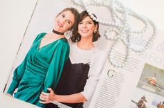 VIP & PRESS-Alina Cernatescu #alinacernatescu #romaniandesigner #milano #dress #cocktaildress #editorial #magazine #revistafemeia #silk #couture #asseenon #vip Vip, Editorial, Ruffle Blouse, Magazine, Couture, Classic, Model, Dresses, Design