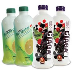 I drink CIAGA and Bergistgerol daily.  This helps my immune system and cardiovascular health.