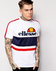 Discover ellesse at ASOS. Shop our range of ellesse t-shirts, sweatshirts and tops. Tee Shirt Homme, T Shirt, Ellesse Clothing, Suit Fashion, Mens Fashion, Bad Boy, Old School Fashion, Mode Vintage, Urban Outfits