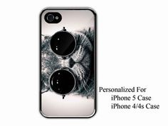 iPhone 4/4s Case  Funny Cute Steampunk Cat Kitty by NiceFaceShop, $15.00
