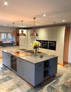 Bespoke copper kitchen
