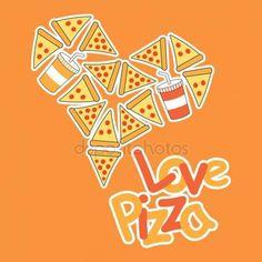 Картинки по запросу открытки с пиццей