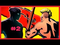 ✔ Shadow Fight 2 - КРУТОЙ БОЕЦ КИРПИЧ #2 Мультик ИГРА бой с тенью для де...
