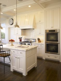 Buena Vista Residence - Think White With A Touch Of Color - traditional - kitchen - san francisco - by Gast Architects