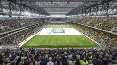 Brasil leva multidão a estádios, e CBV quer fase da Liga na Arena da Baixada…