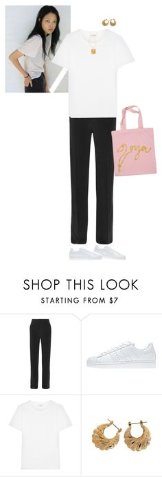 """""""#259"""" by ceciliefang ❤ liked on Polyvore featuring Joseph, Stine Goya, adidas and Yves Saint Laurent"""