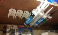 I came across this idea in an American DIY magazine, and it has saved me a lot of stress If you have mastic tubes stored on a shelf, then you will...