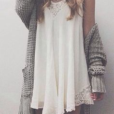 Swinging Lace Dress