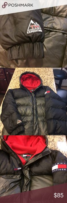 Tommy Hilfiger Snow Coat Good condition. Tags says XXL, but can fit as an XL. Price negotiable Tommy Hilfiger Jackets & Coats