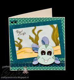 Using Digital Delights Smiling Fish & Under the Sea Background