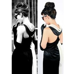 We have spent almost four years developing what we believe to be the closest imitation to the iconic Givenchy black dress worn by Audrey in the unforgettable classicBreakfast at Tiffany's. Our first