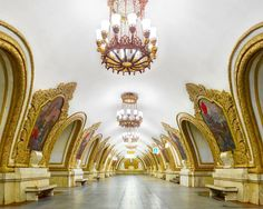 Enter The Ornate World Of Russia's Underground Stations | Co.Design | business + design