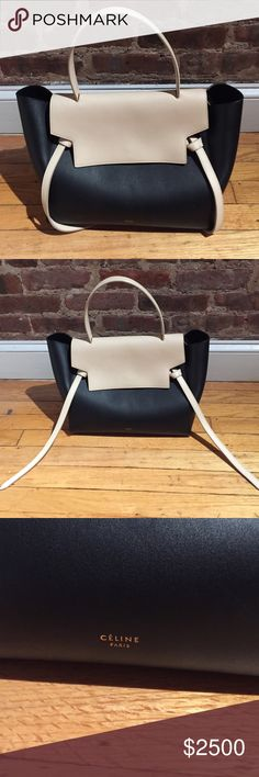Authentic Two-tone Celine Belt Bag Brand new barely used authentic Celine Belt Bag. In perfect condition! Celine Bags
