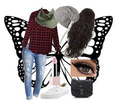 """Style"" by geeklychic13 on Polyvore featuring LE3NO, Laundromat, Sephora Collection, Vans and Wallis"
