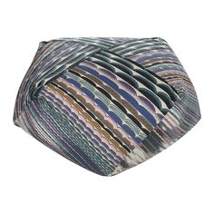 Make+a+bold+addition+to+your+interior+with+the+Diamante+pouf+from+Missoni+Home.+Featuring+half-moon+shapes+in+multicolours+and+in+various+sizes,+this+distinctive+pouf+is+the+perfect+piece+for+adding+a+luxury+touch.+With+more+chic+and+stylish+poufs+also+available+separately,+make+a+statement+with+the+Missoni+Home+range.  Eye-catching+in+design+and+versatile+in+function,+the+Diamante+Pouf+is+a+stylish+and+practical+addition+to+your+living+room,+bedroom+or+playroom.+  A+comfortable+space+to...