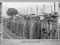 Barracas de La Prerona. Fotos Històriques de Barcelona 1890 – 1932