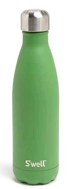 fun #green S'well reusable water bottle http://rstyle.me/n/jajgvr9te