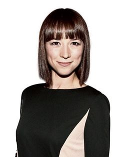 Gorgeous haircut and gorgeous woman