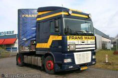 Expeditiebedrijf Frans Maas BV werd opgericht door Francis Johan Hubert Maas. In 1985 werd het bedrijf verkocht aan de Nederlandse investeringsbank ter voorbereiding van de beursgang, in 2006 kocht DFDS de aandelen, waarna het bedrijf verder ging onder de naam DSV.
