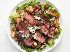 Get Steak-and-Potato Salad Recipe from Food Network