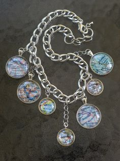 Orient Express Map Necklace by LincolnStreetDesign on Etsy