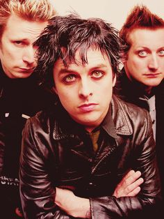 Green Day:These are the guys i hope to meet and play like some day.                      - Allison W.