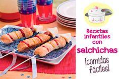 Salchichas: ¡6 recetas divertidas! Salchichas: ¡6 recetas divertidas! Os presentamos recetas con salchichas fáciles y divertidas: pulpo de salchicha, hot dog especiales, muffin de salchicha...