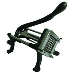 Weston Restaurant Quality French Fry Cutter Cast Iron, Includes Suction Cup Feet: Cuts up to 50 lbs. of potatoes into restaurant style french fries in an hour! Glass Cutters, French Fry Cutter, Different Vegetables, Kit Homes, French Fries, Restaurant, Cast Iron, Top, Mini Kitchen